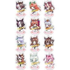 Uma Musume Pretty Derby Acrylic Keychain Collection Vol. 3 Box Set