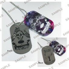 MF Bunko J Summer School Festival 2019 No Game No Life Guild Dog Tags