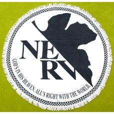 EVA STORE TOKYO-01 Original NERV Symbol Round Towel