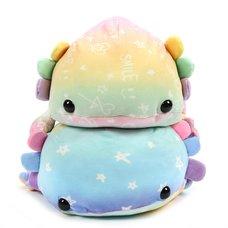 Mochi Puni Axolotl Big Super Colorful Plush Collection