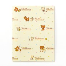 Rilakkuma 10-Pocket Clear File