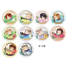Hetalia Character Badges Box Set