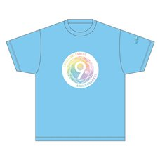 Love Live! Series 9th Anniversary Memorial T-Shirt: Aqours Ver.