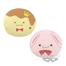 IDOLiSH 7 Big Soft Plush Cushion ~Monster King Pudding & Kinako~