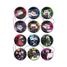 Osomatsu-san Hacker Cosplay Badge Collection Box Set