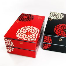 Square 2-Tier Bento Box