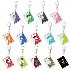 Kagerou Project Playing Card Ver. Acrylic Keychain Collection