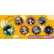 My Hero Academia Acrylic Keychain Charm Collection Box Set