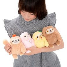 Namakemono no Mikke Nakayoshi Sloth Plush Collection (Standard)