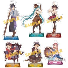 Vocaloid Pirate Acrylic Keychain Charm & Stand Collection