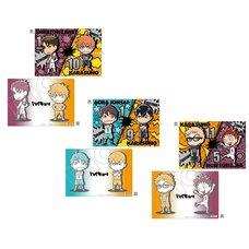 Haikyu!! Karasuno vs Shiratorizawa Clear File Collection