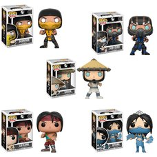 Pop! Games: Mortal Kombat - Complete Set
