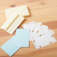 Rilakkuma Message Cards & Envelopes (Pastel Hearts)
