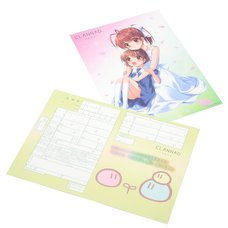 Key 20th Anniversary Clannad Marriage Registration w/ Clear Poster