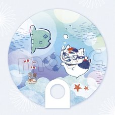 Natsume's Book of Friends Nyanko-sensei Clear Fan