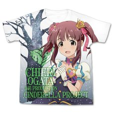 The Idolm@ster Cinderella Girls My First Star!! Chieri Ogata Graphic T-Shirt