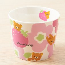 Rilakkuma & Strawberries Cup