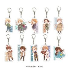 Hetalia: World Stars Acrylic Keychain Collection Vol. 2 Box Set