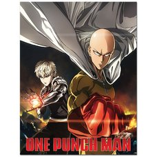 One-Punch Man Saitama & Genos Sublimation Throw Blanket