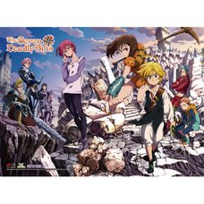 The Seven Deadly Sins Key Art 2 Premium Wall Scroll