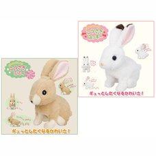 Flapping Ears Rabbit Plush