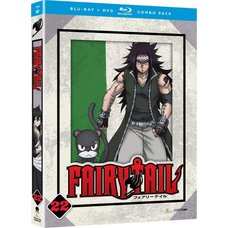 Fairy Tail Part 22 BD/DVD Combo