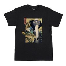 Monster Hunter Ukiyo-e Zinogre x Kiso Waterfall T-Shirt