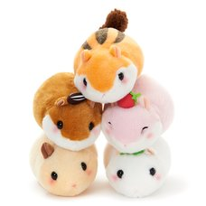 Coroham Coron Manmaru Friends Hamster Plush Collection (Standard)