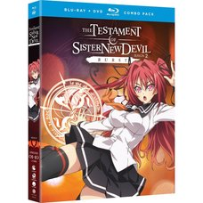 The Testament of Sister New Devil Burst Season 2 + OVA Blu-ray/DVD Combo Pack
