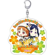 Love Live! Sunshine!! Big Acrylic Keychain Collection