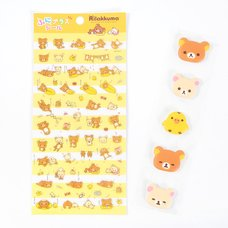 Rilakkuma Funi Plus Stickers