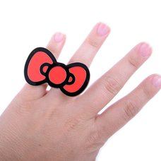 Hello Kitty Bow 2-Finger Ring