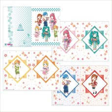 Hatsune Miku Summer Festival A5 Clear File Set: SD Ver.