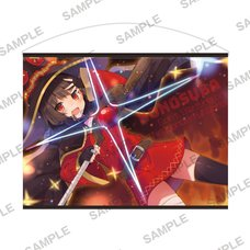 KonoSuba: God's Blessing on This Wonderful World! Bakuen Fair Megumin B2-Size Tapestry