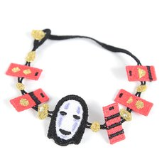 Spirited Away No Face Lace Bracelet