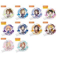 The Idolm@ster Cinderella Girls 5th Live Tour: Serendipity Parade!!! Official Producer Badges - Group C