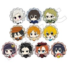 Bungo Stray Dogs: Dead Apple Flake Stickers