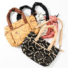 Osumashi Pooh-chan Travel Pooh-chan Handbags