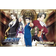 Ace Attorney TV Anime 2017 Calendar
