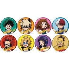 My Hero Academia Battle Cake Character Badge Collection Box Set