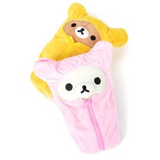 Rilakkuma Sleeping Bag Plushies