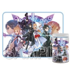 Sword Art Online 10th Anniversary Key Visual Blanket in a Bottle