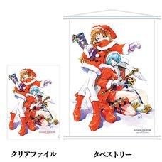 Eva Store Original Neon Genesis Evangelion Christmas Clear File