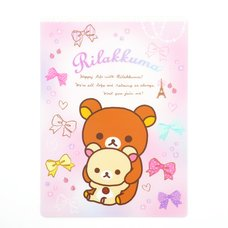 Rilakkuma Go Go School Pencil Board
