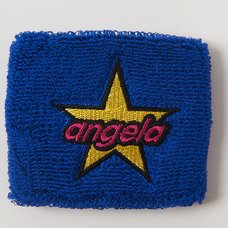 angela Blue Wristband