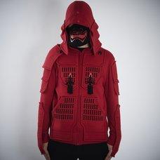 Samurai Armor Hoodie Set <Red>