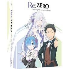 Re:Zero -Starting Life in Another World- Season 1 Part 1 Blu-ray/DVD Combo Pack Limited Edition