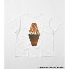 Attack on Titan R4G Wall White T-Shirt