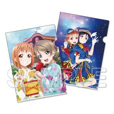 Love Live! Sunshine!! x Dengeki G's Magazine Clear File Set