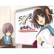 The Melancholy of Haruhi Suzumiya Rubber Play Mat Collection: Haruhi & Nagato